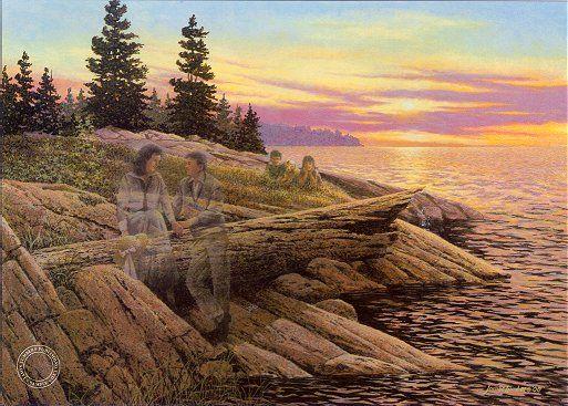 James Lumbers -Evening Rendezvous
