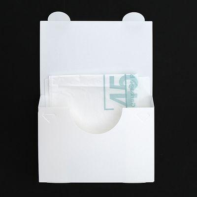 ゴミ袋や保存袋などをスッキリシンプルに使いやすく収納できる便利なケース。  【monotone モノトーン 引き出し 収納 ポリ袋 ゴミ袋 保存袋 シンプル スッキリ 便利】  ヨコ型ゴミ袋用ケース(ホワイト)      【mon・o・toneオリジナル商品】  ごみ袋やジップロック等の食品保存袋を  スッキリシンプルに使いやすく収納できます。  最後の1枚まで快適に取り出せる「支え板」付きです。  厚み:約3.2cm 長辺:約29cm 短辺:約19cm  材質:PP 日本製