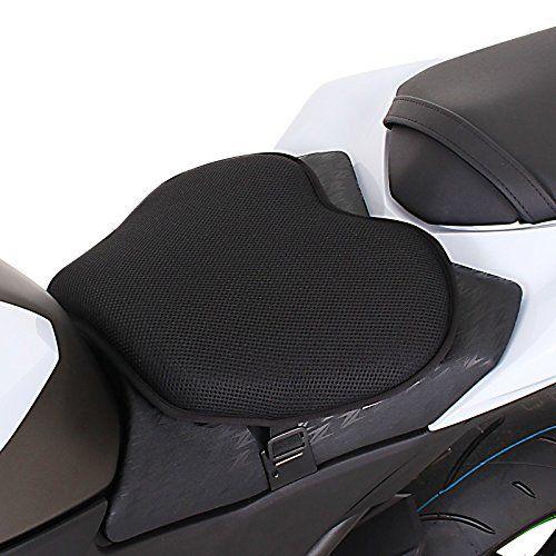 Gel Coussin Pour Selle de Moto Tourtecs L: Coussin Confort avec un insert de gel, augmentation significative de confort en conduisant grâce…