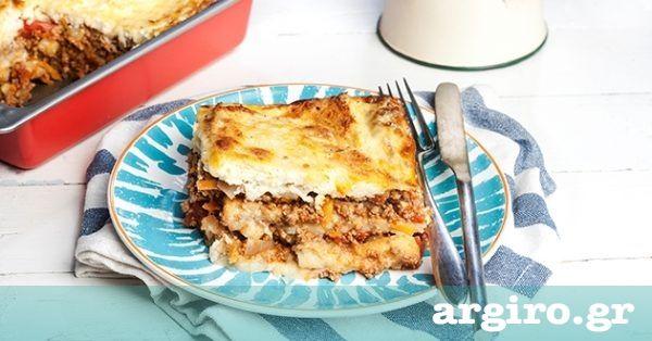 Εύκολος μουσακάς με γιαούρτι από την Αργυρώ Μπαρμπαρίγου   Ακολουθήστε αυτή τη συνταγή και φτιάξτε τον μουσακά αλλιώς, εύκολα και υγιεινά, χωρίς τηγάνισμα!