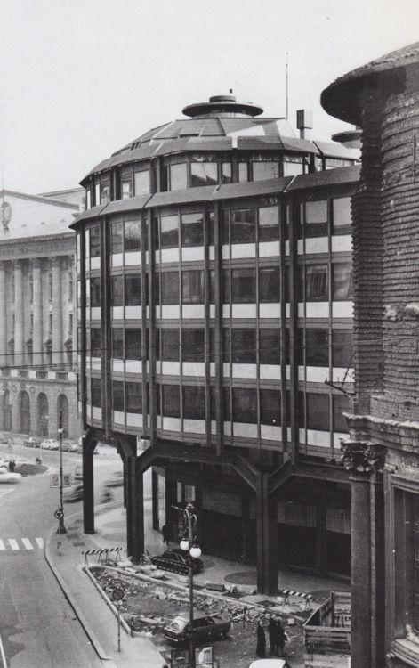 "aqqindex: "" BBPR, Chase Bank Milan, 1958-1959 """