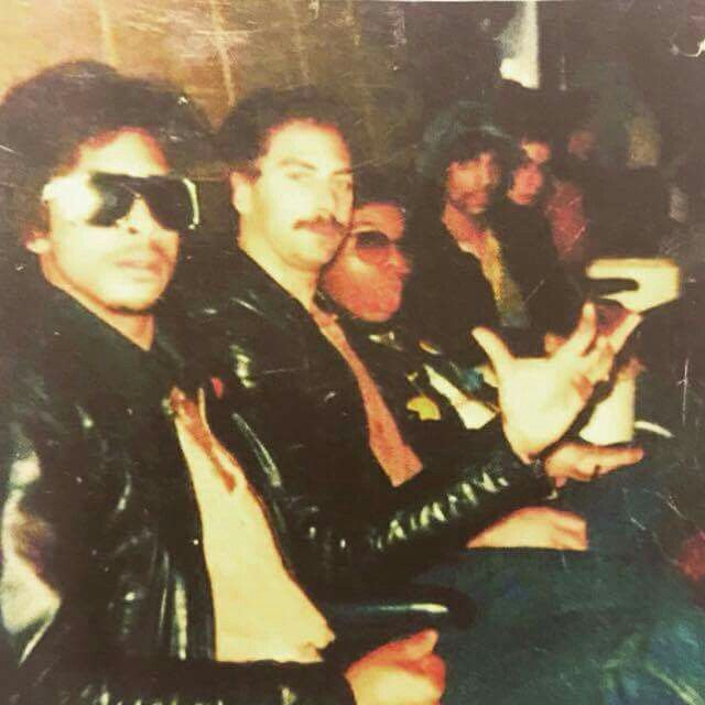 Back in the old days: Andre, Bobby Z, Dez and Prince