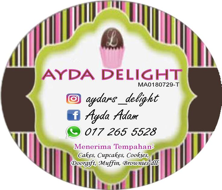 Sticker untuk product cookies jenis materal mirrorkote saiz boleh customize whatsapp 0172564200 www