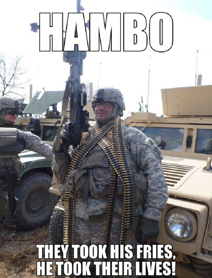 Army combative lvl buffet