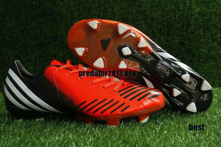 official photos 018b7 5dac2 ... Adidas Predator 2012 LZ Infrared Black Running White Beckham Soccer  Shoes 28 ...