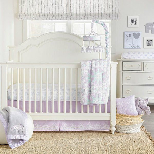 You Ll Love The Vizcarra 4 Piece Crib Bedding Set At Wayfair Great Deals On All Baby Kids Products Wit Elephant Crib Bedding Crib Bedding Sets Crib Bedding