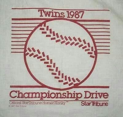 """Homer Hanky! """"My baby waves her Homer Hanky!"""" I just moved back home to MN from California just in time for the 1987 World Series that we won!"""