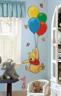cute winnie the pooh wall decal