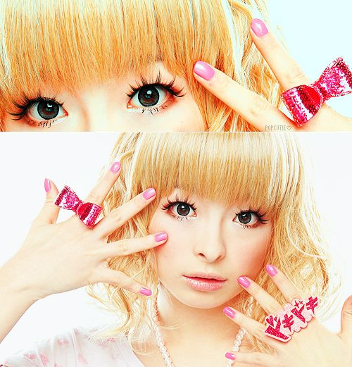 kawaii rings, so j-pop glam!