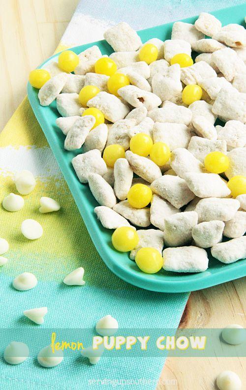 Lemon Puppy Chow Recipe