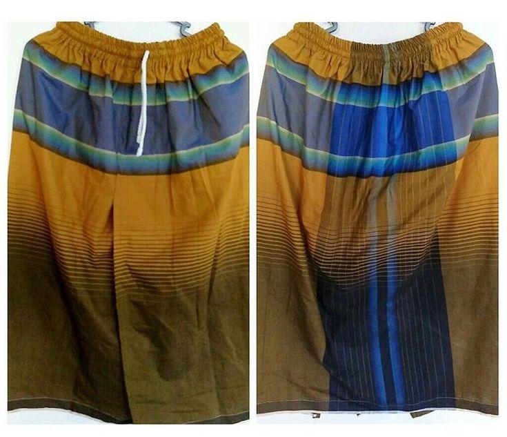 Sarung Celana Remaja R59 adalah sarung celana wadimor warna kombinasi kuning emas terbaru kami dengan ukuran S