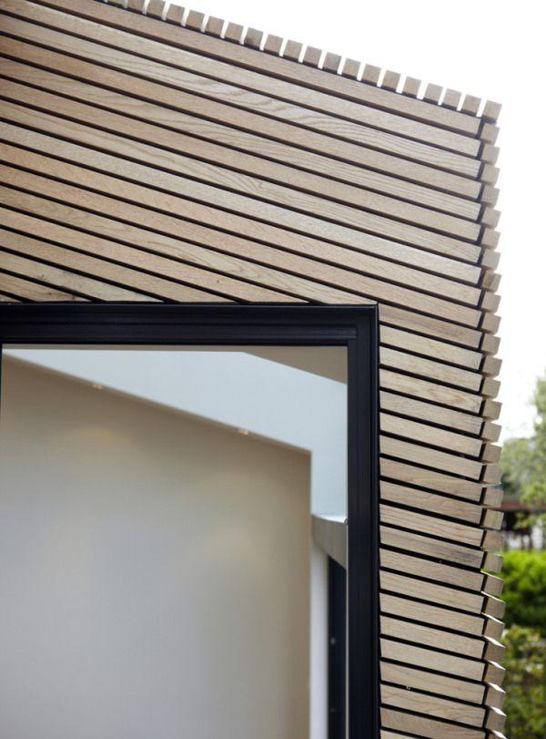 Beautiful detailing -Timber cladding
