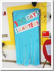 17 best images about 100th day on pinterest teacher for Idea door activity days