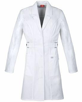 """Cherokee Scrubs 36"""" Jr. Fit Lab Coat 82410"""