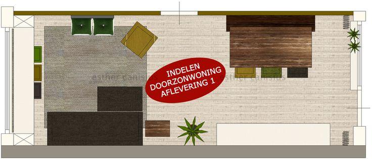 #interieur #interieurontwerp #plattegrond #doorzonwoning #binnenhuisarchitect #cursus #interieurtips