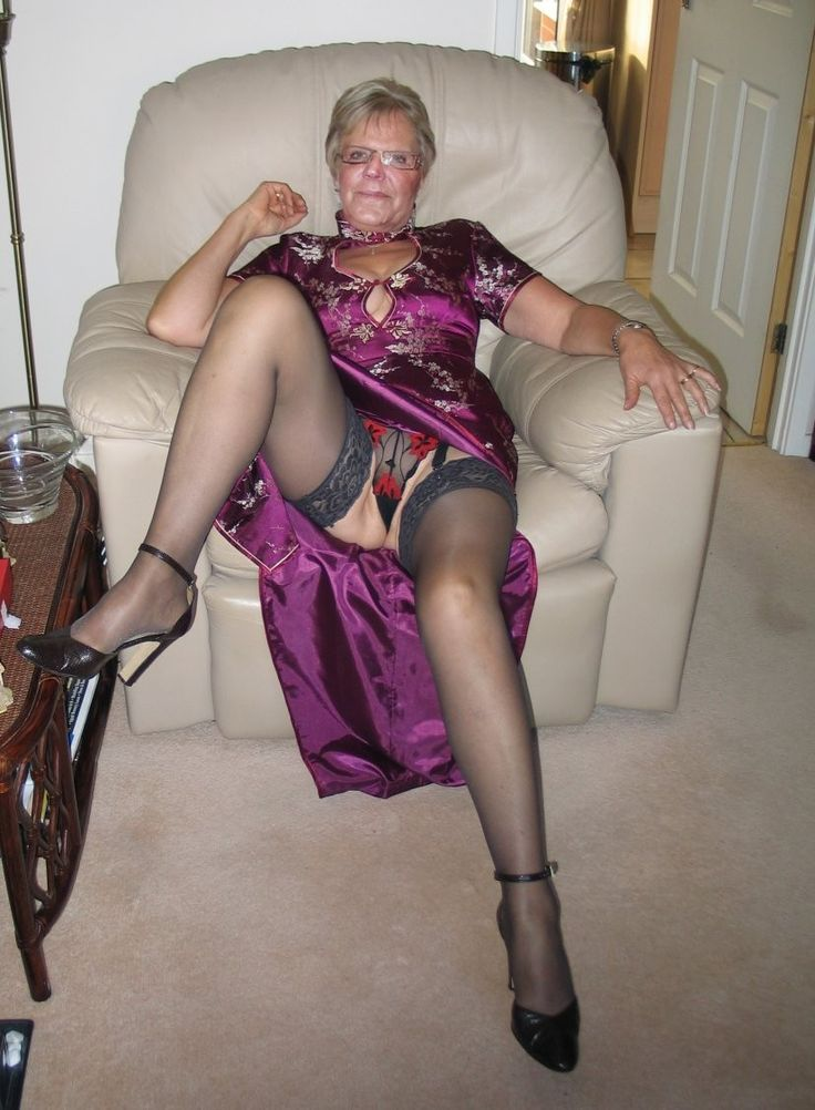 Thier granny girdle cunt