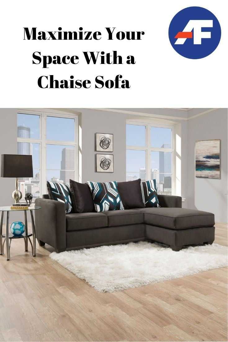 Maximize Your Space With A Chaise Sofa American Freight Blog Chaise Sofa Cool Couches Big Furniture