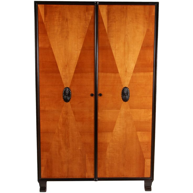 French Art Deco Cabinet | From a unique collection of antique and modern cabinets at https://www.1stdibs.com/furniture/storage-case-pieces/cabinets/