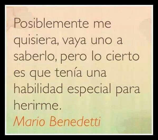 Mario Benedetti Frases