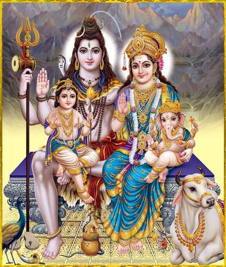 Shiva familia.