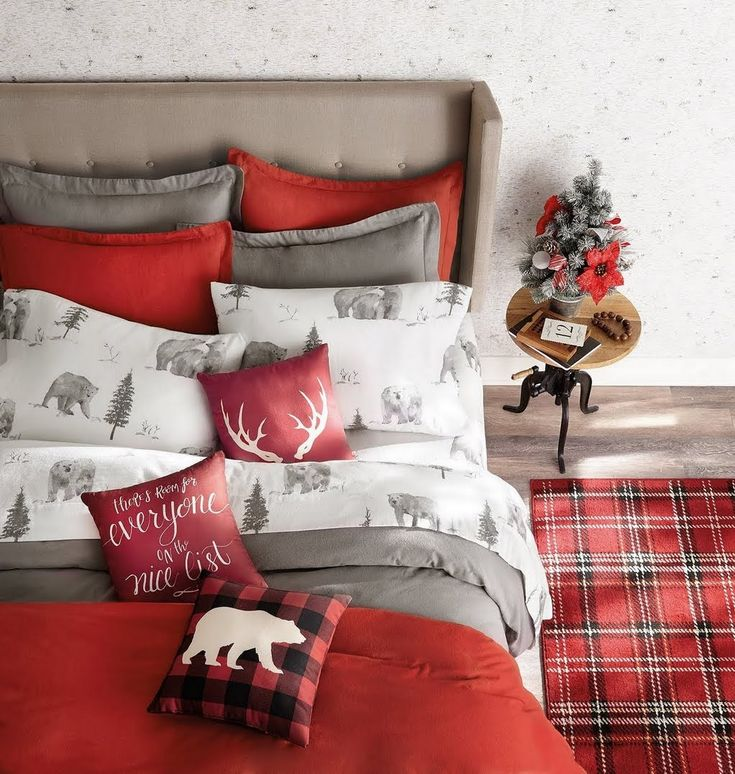 Shop Our Bedroom Department To Customize Your Holiday