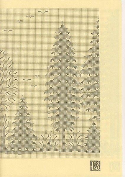 Szydełkomania Lesny paesaggio schema 2)