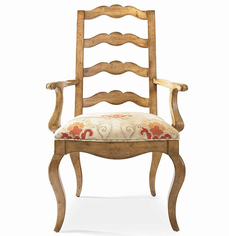 Shop For Century Furniture Ladderback Arm Chair And Other Dining Room Chairs The Custom Tailored Assortment Of Occasional Offers A