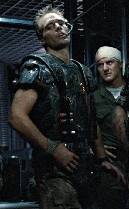 Hicks and Gorman in Aliens.