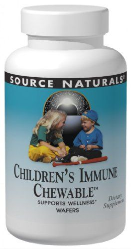 Source Naturals Childrens Immune Chewable, 120 Wafers