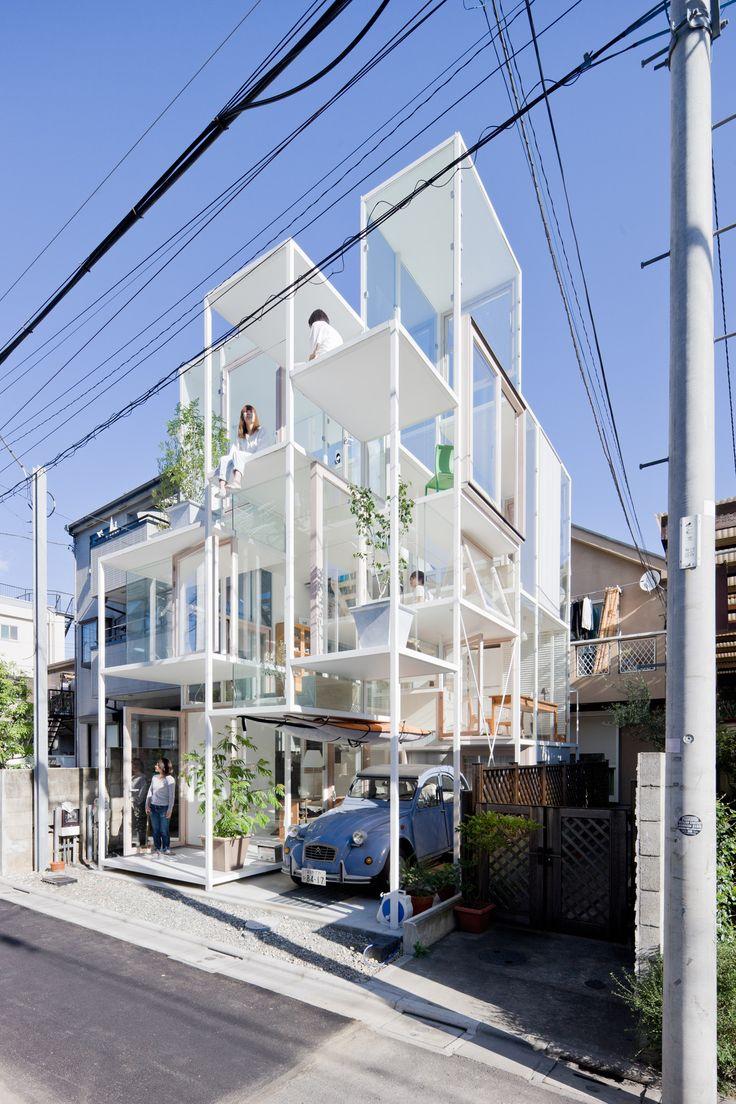 house na, by Sou Fujimoto Architects