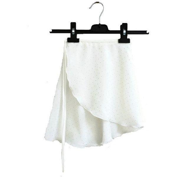 Wrap Around Ballet Skirt Elasticated Cross Over Ballet Skirt... (51 AUD) ❤ liked on Polyvore