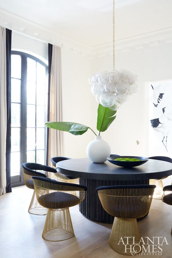 Home Tour: Black and White Perfection In Buckhead