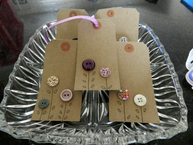 Making you own Gift Tags : Homemade Ideas - The Ana Mum Diary