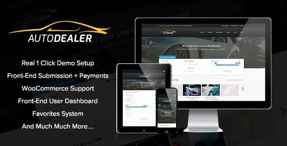 AutoDealer - Car Dealer Premium WordPress Theme