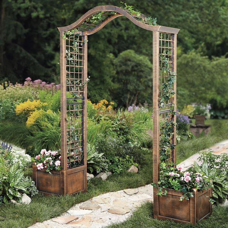 25 best arch trellis ideas on pinterest garden arch for Garden arches designs