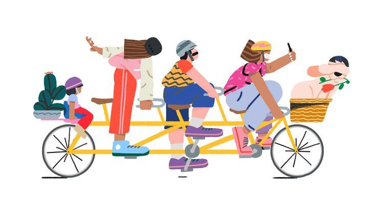 Jovia illustrations on behance in 2020 illustration