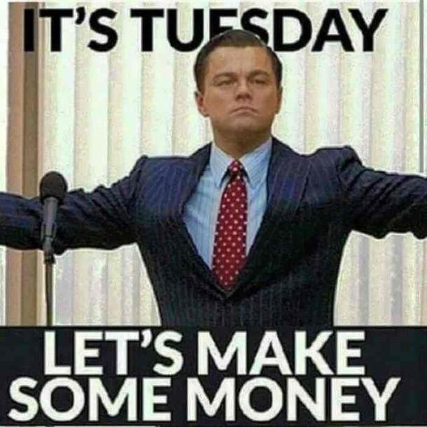 10 Funny Tuesday Memes To Move Your Day Faster Happy Tuesday Quotes Good Day Quotes Happy Tuesday Meme
