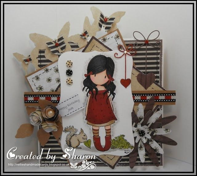 Nellies Handmade Cards: Gorjuss Girl | Cards