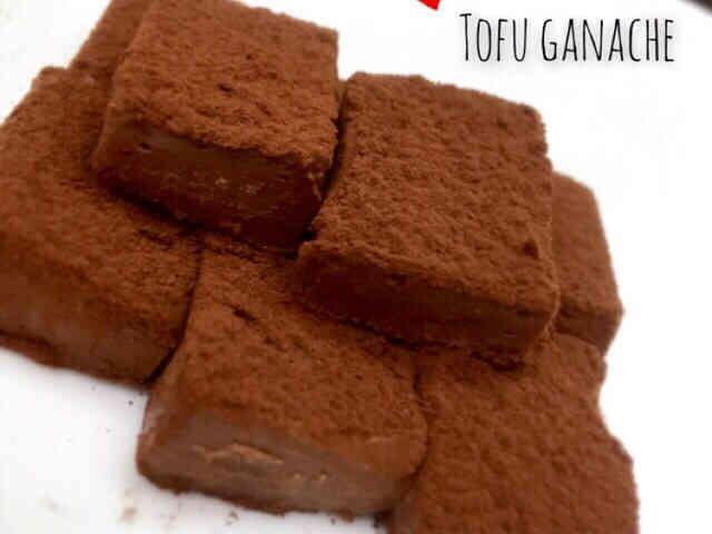 材料3つ!お豆腐で♡とろける生チョコの画像