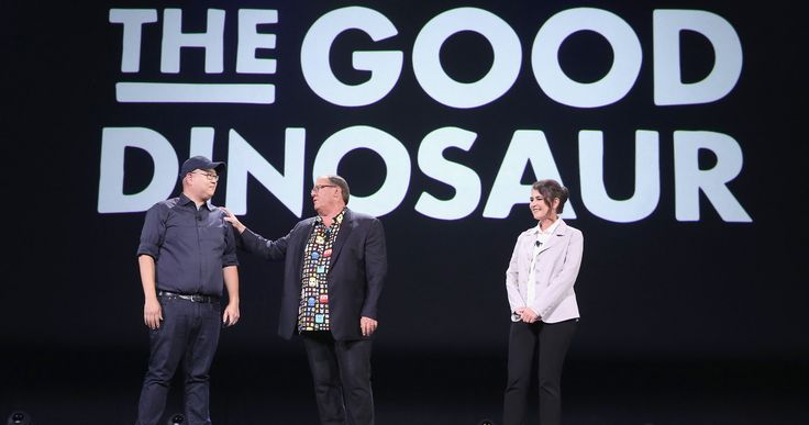 D23: Watch Pixar's 'The Good Dinosaur' Presentation -- Director Peter Sohn and producer Denise Ream shared new footage from Pixar's highly-anticipated 'The Good Dinosaur' at the D23 Expo this weekend. -- http://movieweb.com/d23-the-good-dinosaur-video-pixar/