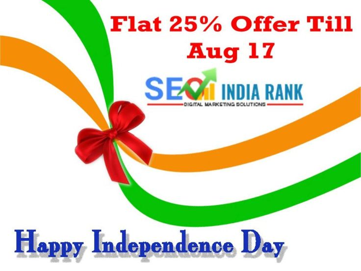 IPeridigi Happy to Inform Flat 25% offer for all the services and Courses. This is applicable only for Aug 17th 2016. Happy Independence day to all by IPeridigi. #SEO #IndependenceDay http://www.iperidigi.com/in/chennai/seo-web-design-company-chennai/