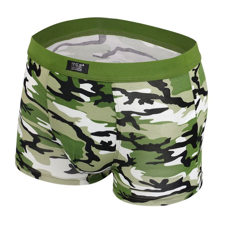 mens boxers camouflage underwear brand new sexy shorts elastic male boys underpants breathable