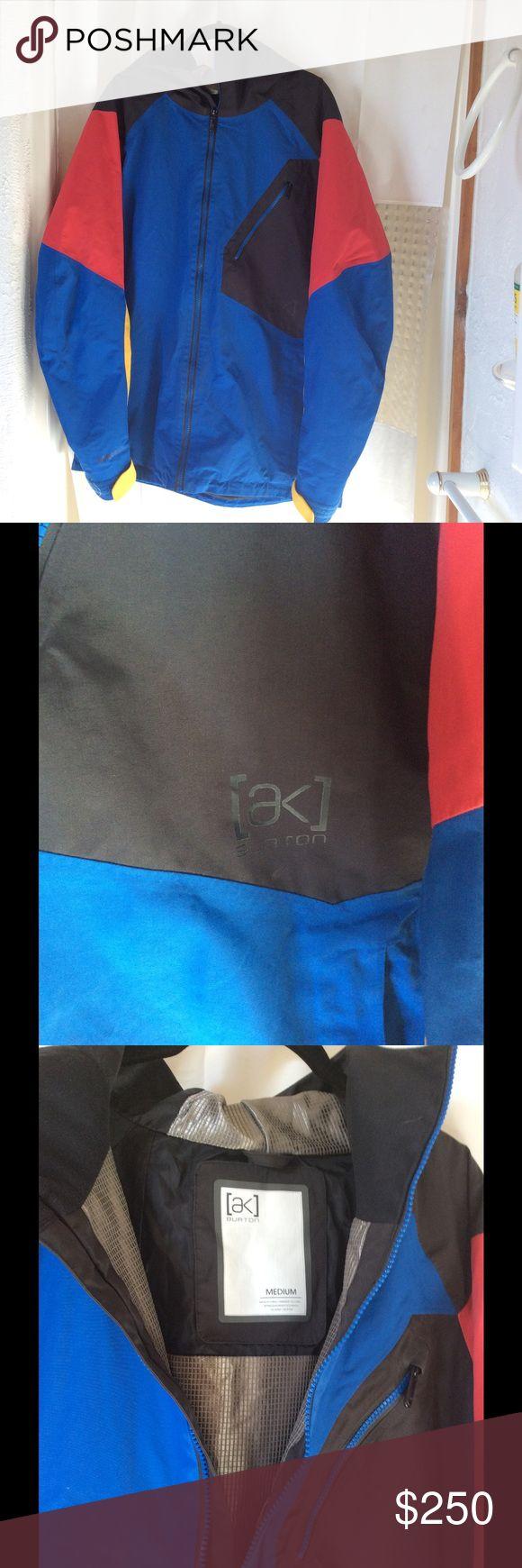 Med. AK Burton Gore-tex Riding Jacket Med. AK Burton Gore-tex Riding Jacket. Men's. Waterproof. EUC snowboarding jacket Burton Jackets & Coats Ski & Snowboard