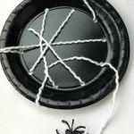 Paper Plate Spiderweb