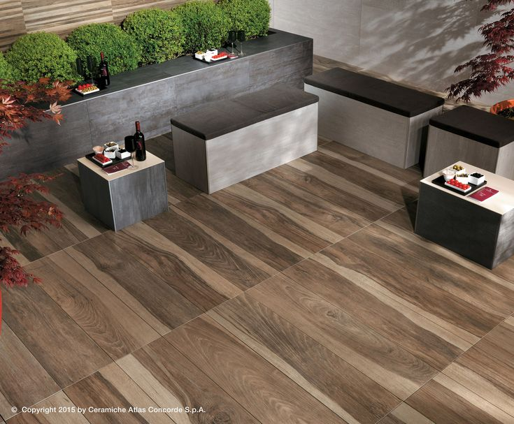 Porcelain stoneware decking ETIC PRO - OUTDOOR PAVING - Atlas Concorde