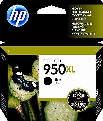 HP 950 XL Black Toner Cartridge Printer Ink NIB Exp 5/2018 Genuine CN045AN #HP