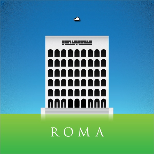 Rome - Palazzo della Civiltà