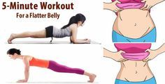 The plank is one of the best exercises for a flat, toned stomach because it works all the muscles in your core, including the rectus abdominus (the