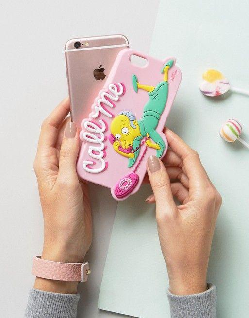 Call Me Skinny Dip x Simpsons phone case