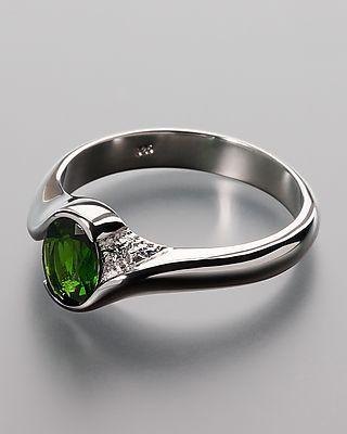 Sogni d'oro Silberzeit Chromdiopsid-Ring online kaufen 392598